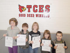 "<div class=""source""></div><div class=""image-desc"">Taylor County Elementary School recently announced its Good Deed winners for the week of Dec. 8. From left, they are Katie Murley, Gavin Foster, Julie Stone, Ali Herron and Bryson Skaggs. </div><div class=""buy-pic""></div>"