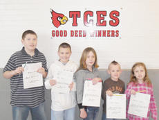 """<div class=""""source""""></div><div class=""""image-desc"""">Taylor County Elementary School recently announced its Good Deed winners for the week of Feb. 23. They are Michael Wiser, Ryan Feese, Emma Stratton, Hayden Ingram and Kassandra Hughes.</div><div class=""""buy-pic""""><a href=""""http://web2.lcni5.com/cgi-bin/c2newbuyphoto.cgi?pub=085&orig=TCES%2BGood%2BDeed%2B2-23%2BColor.jpg"""" target=""""_new"""">Buy this photo</a></div>"""