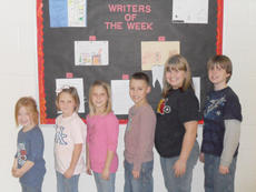 "<div class=""source""></div><div class=""image-desc"">Taylor County Elementary School recently announced its Writers of the Week for Nov. 18. They are, from left, kindergartner Ruthie Dengel, first grader Savannah Delk, second grader Stephanie Davis, third grader Hayden Dabney, fourth grader Kelsie Perkins and fifth grader Michael Sanford. </div><div class=""buy-pic""></div>"