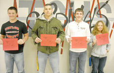 "<div class=""source""></div><div class=""image-desc"">Taylor County High School recently announced its Students of the Week for April 25-29. From left they are senior Matthew Johns, junior Jonathan Rafferty, sophomore Logan Walker and freshman Savannah Rash. </div><div class=""buy-pic""></div>"