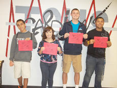 "<div class=""source""></div><div class=""image-desc"">Taylor County High School recently announced its Students of the Week for the week of Aug. 20. They are, from left, freshman Austin Rosales, sophomore Alenna Cox, junior Caleb Wigginton and senior Cody Russell. </div><div class=""buy-pic""></div>"