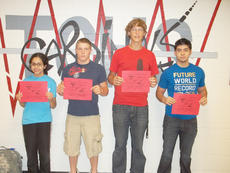 "<div class=""source""></div><div class=""image-desc"">Taylor County High School recently announced its Students of the Week for the week of Aug. 20-27. From left are freshman Christine Vega, sophomore Zack Richerson, junior Bryan Rule and senior Chris Guzman. </div><div class=""buy-pic""></div>"