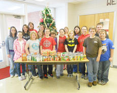 """<div class=""""source""""></div><div class=""""image-desc"""">Taylor County Middle School Peers for Peace club recently had a nonperishable food drive to collect items to help a family in need. </div><div class=""""buy-pic""""><a href=""""/photo_select/41894"""">Buy this photo</a></div>"""