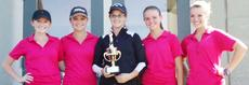 """<div class=""""source""""></div><div class=""""image-desc"""">The conference runner-up Taylor County Lady Cardinals are, from left: Hannah Reynolds, Kayla Rodger, Ellen Kehoe, Carlie Hazel and Rylee Beard.</div><div class=""""buy-pic""""></div>"""