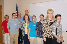 """<div class=""""source""""></div><div class=""""image-desc"""">New team members at TRH are, from left, Beverly Wilson, Cody Drury, Sam Thompson, Lemuel Baker, Pat Stotts, Beth Lee, Tiffany Cox, Kathy Taylor and Hannah Pruitt. Several others were unavailable for the photo.</div><div class=""""buy-pic""""></div>"""