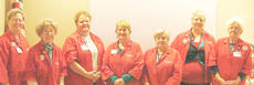 """<div class=""""source""""></div><div class=""""image-desc"""">From left are 2013 auxiliary officers Dot Jones, Leona Read, Brenda Kirk, Margie Leach, Judy Benningfield, Sharon Fryman and Connie S. Tucker.</div><div class=""""buy-pic""""></div>"""