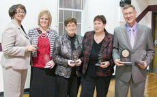 "<div class=""source""></div><div class=""image-desc"">Luke Williams, at right, received Taylor Regional Hospital Hero Award. Other nominees for the award were, from left, Phyllis Curry, Nicole Collins, Peggy Cox and Debbie Edwards.</div><div class=""buy-pic""><a href=""/photo_select/41859"">Buy this photo</a></div>"