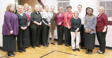 """<div class=""""source""""></div><div class=""""image-desc"""">Those honored for 10 years of service were Susie Akin, June Anderson, Leanne Brussell, Debbie Bryant, Tammy Bryant, Jo Anne Carter, April Clark, Georgina Coffey, Nicole Collins, Kathy Coulter, Beth Ann Cox, Freddie Croney, Amy Curry, Heather Curry, Linda Gribbins, Sharon Hardin, Shelly Jenkins, Gerry Judd, Shelia Loper, Tomi Jo Moore, Letitia Necessary, Patty Nunn, Cindy Penick, Teresa Shirley, Beverly Smith, Mary Tena Smith, Tammy Stephens, Nichelle Taylor, Shelia Thomas, Sam Underwood, Janice Vaughn, Tammy Warren, Diane Wright, Jason Wright and Mary York.</div><div class=""""buy-pic""""></div>"""