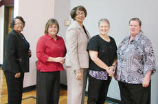 """<div class=""""source""""></div><div class=""""image-desc"""">Those honored for 20 years of service were Glenda Colvin, Phyllis Curry, Peggy Hatton, Dana Isaacs, Karen Jones, Andrea Smith, Kay Whitaker and Donna Wilcher.</div><div class=""""buy-pic""""></div>"""