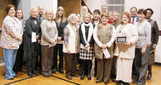 """<div class=""""source""""></div><div class=""""image-desc"""">Quarter Century Club members honored were David Gault, 43 years; Mark Hazard, 41 years; Judy Dabney, 40 years; Barbara Abell and Debbie Edwards, 39 years; Flossie Rowe, Faye Veatch and Wanda Cox, 38 years; Jan McNear, 36 years; Susan Brents and Jane Roution, 35 years; Gary Brown, Lisa Gupton, Brenda Hazard, Cindy Lawson, Karen Newton, Jane Wheatley and Kathy Wilson, 34 years; Kathy Bagby, Gayle Bright, John Gaines, Ruby Gribbins, Angie Johnson, Pam Laboyteaux, Leola Maupin, Diane Minor and Chris Naylor, 33 years; Wallace Feese, Ann Nunn, Cheryl Whitlock and Rodney Whitlock, 32 years; Brenda Goode, Jan Smothers, Dreama Spalding and Wilma Wilson, 31 years; Leslie Durham, Anita Judd, Paul Phillips, Mary Anne Rice and Gloria Witham, 30 years; Ellyn Davis, 29 years; Janet Dixon and Terrie Hall, 28 years; Robin Christie, Daisy DeWeese, Sheila Hayes, Patricia Johnson, Barkley Taylor and Teresa Turner, 27 years; Carol Elmore, Lisa Haliday, Carol Kirtley, Laura Milburn, Pam Rogers, Jim Sabo and Kym Stein, 26 years; and Connie Crowe, Linda Marcum, Lee Ann Muncie and Melissa Stearman, 25 years.</div><div class=""""buy-pic""""></div>"""