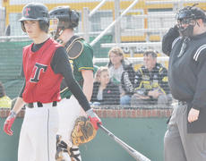 """<div class=""""source"""">Bobby Brockman</div><div class=""""image-desc"""">Tyler Frogge and the Taylor County High School baseball Cardinals improved to 11-2 with four wins in Louisville.</div><div class=""""buy-pic""""><a href=""""http://web2.lcni5.com/cgi-bin/c2newbuyphoto.cgi?pub=085&orig=TylerFrogge.jpg"""" target=""""_new"""">Buy this photo</a></div>"""