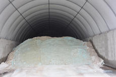 """<div class=""""source"""">Leslie Moore</div><div class=""""image-desc"""">A glimpse inside Taylor County Road Department's salt reserve, which currently houses about 400 tons of salt.</div><div class=""""buy-pic""""><a href=""""http://web2.lcni5.com/cgi-bin/c2newbuyphoto.cgi?pub=085&orig=Winter%2BDriving%2B2.jpg"""" target=""""_new"""">Buy this photo</a></div>"""