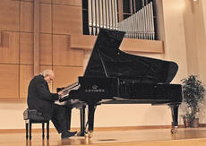 """<div class=""""source"""">Rebecca Cassell, Editor</div><div class=""""image-desc"""">Internationally-known pianist Charles Rosen performed Monday evening in the Ransdell Chapel on the Campbellsville University campus as the second presentation of the 2008-2009 season of the Central Kentucky Arts Series.</div><div class=""""buy-pic""""><a href=""""/photo_select/17201"""">Buy this photo</a></div>"""