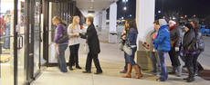 """<div class=""""source"""">Calen McKinney</div><div class=""""image-desc"""">Shoppers file in at Goody's just after 6 a.m. on Friday to search for bargains.</div><div class=""""buy-pic""""><a href=""""/photo_select/48710"""">Buy this photo</a></div>"""