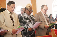 """<div class=""""source"""">Dennis George</div><div class=""""image-desc"""">Those in attendance sang during Sunday's Taylor County Civic Club's Black History Month celebration.</div><div class=""""buy-pic""""><a href=""""/photo_select/66625"""">Buy this photo</a></div>"""