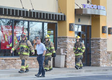 "<div class=""source"">Calen McKinney</div><div class=""image-desc"">Campbellsville Police and Campbellsville Fire & Rescue personnel investigated the report of a bomb threat at Taco Bell on Monday at about 1:30 p.m.</div><div class=""buy-pic""><a href=""http://web2.lcni5.com/cgi-bin/c2newbuyphoto.cgi?pub=085&orig=bomb_threat_taco_bell_color.jpg"" target=""_new"">Buy this photo</a></div>"