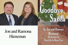 """<div class=""""source""""></div><div class=""""image-desc"""">Jon and Ramona Hieneman will sign copies of """"Goodbye, Santa"""" on Friday, Nov. 22, from noon to 2 p.m. at Taylor Regional Hospital's gift shop. For up-to-date book signings, visit www.goodbyesanta.com.</div><div class=""""buy-pic""""></div>"""