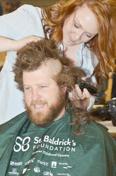"<div class=""source"">Calen McKinney</div><div class=""image-desc"">Brandon Lakes was one of many people who shaved their heads on Saturday as part of the community's seventh St. Baldrick's event at Campbellsville University to raise money for children's cancer research.</div><div class=""buy-pic""><a href=""/photo_select/50826"">Buy this photo</a></div>"