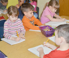 "<div class=""source"">Calen McKinney</div><div class=""image-desc"">Campbellsville Independent Schools are slated to go to school through May 23 to make up days canceled for snow. Above, kindergarten students at Campbellsville Elementary School write in their journals.</div><div class=""buy-pic""><a href=""/photo_select/50954"">Buy this photo</a></div>"
