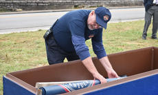 "<div class=""source"">Zac Oakes</div><div class=""image-desc"">Bicentennial Committee member Charlie Shaw, above, places items into the time capsule, which was buried last Thursday and will be reopened in 50 years. </div><div class=""buy-pic""><a href=""/photo_select/66182"">Buy this photo</a></div>"