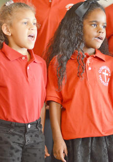 "<div class=""source"">Calen McKinney</div><div class=""image-desc"">Brianna Mitchell, at left, and Makyla Shively sing with the Community Youth Choir. </div><div class=""buy-pic""><a href=""/photo_select/50196"">Buy this photo</a></div>"