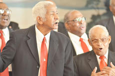 "<div class=""source"">Calen McKinney</div><div class=""image-desc"">Sparky Taylor, at left, and Sam Wickliffe sing with Voices of Praise as the Taylor County Civic League hosted its annual Black History Month celebration on Sunday. </div><div class=""buy-pic""><a href=""/photo_select/50148"">Buy this photo</a></div>"