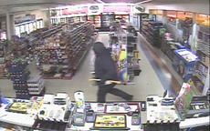 """<div class=""""source"""">Campbellsville Police</div><div class=""""image-desc"""">Police are looking for this person, who burglarized the Convenient Store on South Central Avenue last Tuesday. The burglar, believed to be a man, used tools to get inside and then to get cash from registers and an ATM machine. </div><div class=""""buy-pic""""></div>"""