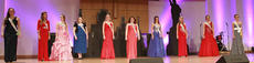 """<div class=""""source"""">Rachel DeCoursey</div><div class=""""image-desc"""">From left are contestants Rachel Smith, Alexa Moore, Danielle Salyers, Marissa Rehmet, Shelby Mattingly, Haley Roehl, Ellie McKinley, Meredith Eastham, Jessica Tinsley and Emily Hatley. </div><div class=""""buy-pic""""></div>"""