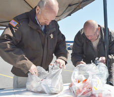"<div class=""source"">Calen McKinney</div><div class=""image-desc"">Tom Finck, a school resource officer with the sheriff's office, at left, and Paul Lacy, a part-time security worker at the Taylor County Judicial Center, sort through medications.</div><div class=""buy-pic""><a href=""/photo_select/51338"">Buy this photo</a></div>"