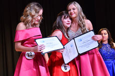 "<div class=""source""></div><div class=""image-desc"">Lexi Raikes, center, was crowned Taylor County Distinguished Young Woman 2018 Saturday night at Taylor County High School. She is joined by Matti Blakeman, left, and Macaela Hansford. Blakeman was first runner-up, while Hansford was second runner-up.</div><div class=""buy-pic""><a href=""/photo_select/66057"">Buy this photo</a></div>"