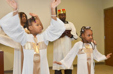 "<div class=""source"">Calen McKinney</div><div class=""image-desc"">Laneysa Caldwell, at left, and Lavonya Caldwell dance with Pleasant Union Baptist Church's youth group Joyful Light. The group performed a liturgical dance to ""Take Me To The King"" by Tamela Mann to encourage people to know Jesus. In back are India White and Jason Caldwell.</div><div class=""buy-pic""><a href=""http://web2.lcni5.com/cgi-bin/c2newbuyphoto.cgi?pub=085&orig=gcu_black_history_3.jpg"" target=""_new"">Buy this photo</a></div>"