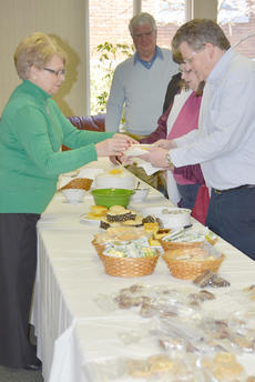 """<div class=""""source"""">Calen McKinney</div><div class=""""image-desc"""">Shirley Cheatham, GRM's director, serves soup during the lunch.</div><div class=""""buy-pic""""><a href=""""/photo_select/50217"""">Buy this photo</a></div>"""