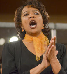 """<div class=""""source"""">Calen McKinney</div><div class=""""image-desc"""">Doretha Sanders performs with the Bethel AME Choir at Hearts To Help, a fundraiser concert on Saturday to raise money for Green River Ministries.</div><div class=""""buy-pic""""><a href=""""/photo_select/48484"""">Buy this photo</a></div>"""