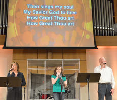 """<div class=""""source"""">Calen McKinney</div><div class=""""image-desc"""">The Blakeman Family, from left, Stephanie, Matti and David, perform at Hearts To Help, a fundraiser concert on Saturday to raise money for Green River Ministries.</div><div class=""""buy-pic""""><a href=""""/photo_select/48491"""">Buy this photo</a></div>"""