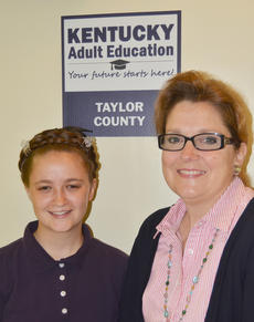 "<div class=""source"">Calen McKinney</div><div class=""image-desc"">Lidda Hood, at left, is the first person in Taylor County to complete the newly revamped GED, which is more difficult now. Annette Jefferson, program director at the Taylor County Adult Learning Center, at right, said she believes a GED will help Hood, and anyone else, achieve their goals.</div><div class=""buy-pic""><a href=""/photo_select/53121"">Buy this photo</a></div>"