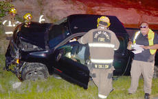 """<div class=""""source"""">Calen McKinney</div><div class=""""image-desc"""">Taylor County Sheriff's deputies are investigating a two-crash crash that happened just before 9 p.m. Saturday night at the intersection of KY 210 and Moss Road. An Elizabethtown man has been arrested and charged with DUI.</div><div class=""""buy-pic""""><a href=""""/photo_select/52432"""">Buy this photo</a></div>"""