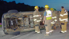 """<div class=""""source"""">Calen McKinney</div><div class=""""image-desc"""">Taylor County Sheriff's deputies are investigating a two-crash crash that happened just before 9 p.m. Saturday night at the intersection of KY 210 and Moss Road. An Elizabethtown man has been arrested and charged with DUI.</div><div class=""""buy-pic""""><a href=""""/photo_select/52434"""">Buy this photo</a></div>"""