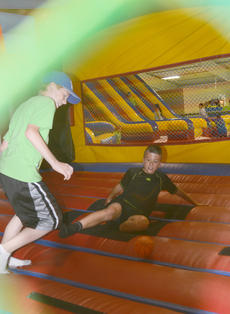"<div class=""source"">Calen McKinney</div><div class=""image-desc"">Aiden Cox, 10, and Noah Rogers, 11, both of Campbellsville, play soccer in a bounce house.</div><div class=""buy-pic""><a href=""http://web2.lcni5.com/cgi-bin/c2newbuyphoto.cgi?pub=085&orig=library_kid-wise_10.jpg"" target=""_new"">Buy this photo</a></div>"