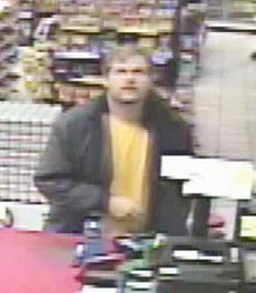 """<div class=""""source"""">Taylor County Sheriff's Office</div><div class=""""image-desc"""">Taylor County deputy sheriff Billy Rice said the man pictured above is wanted for stealing a collection jar from the counter of Fast Track convenience store on Monday, Dec. 5. Anyone with information about the man's identity is asked to call the sheriff's office at 465-4351.</div><div class=""""buy-pic""""></div>"""