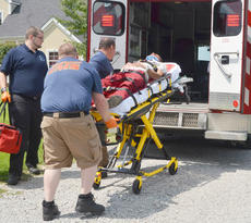 "<div class=""source"">Calen McKinney</div><div class=""image-desc"">Campbellsville/Taylor County EMS personnel transport Johnny T. Embry of Campbellsville to Taylor Regional Hospital for treatment.</div><div class=""buy-pic""><a href=""/photo_select/54753"">Buy this photo</a></div>"