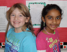 "<div class=""source""></div><div class=""image-desc"">Taylor County Elementary School recently named its intermediate Writers of the Week. Third-grader Cheyenne Hall, at left, was the winner for Nov. 18 and third-grader Stephanie Patel was the winner for Dec. 2.</div><div class=""buy-pic""></div>"