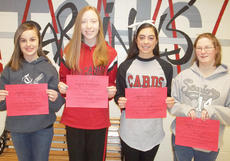 "<div class=""source""></div><div class=""image-desc"">Taylor County High School recently announced its Students of the Week for the week of Jan. 21. They are, from left, freshman Loren Finck, sophomore Sierra DeMurray, junior Haley Wright and senior Brittney Powers.</div><div class=""buy-pic""></div>"