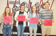 "<div class=""source""></div><div class=""image-desc"">Taylor County High School recently named its Students of the Week for the week of Nov. 5-11. They are freshman Ivy Neal, sophomore Olivia Farmer, junior Bryn Alston and senior Elijah Myers.</div><div class=""buy-pic""></div>"