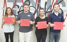 """<div class=""""source""""></div><div class=""""image-desc"""">Taylor County High School recently named its Students of the Week for the week of April 21. They are, from left, freshman Cailee Higdon, sophomore Tanner Thompson, junior Brooke Kearney and senior Abe Fair.</div><div class=""""buy-pic""""></div>"""