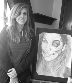 "<div class=""source""></div><div class=""image-desc"">Taylor County High School student Christa Thomas recently won, for the second year in a row, the Best of Show award at Caveland's Regional Art Competition. She competed against 220 other artists. Her work, along with work by other TCHS students who placed in the show, will advance to the Kentucky All-State Art Competition next month in Louisville.</div><div class=""buy-pic""></div>"