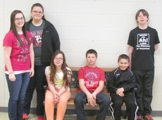 """<div class=""""source""""></div><div class=""""image-desc"""">Taylor County Middle School recently named its Students of the Week for the week of Feb. 3. From left are Sara Lawson, Allie Bailey, Grace Giles, Stephen Thomas, Brian Monroe and Mikey Sanford.</div><div class=""""buy-pic""""></div>"""