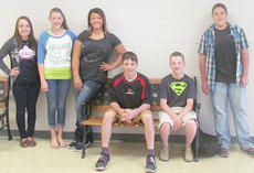 """<div class=""""source""""></div><div class=""""image-desc"""">Taylor County Middle School recently named its Students of the Week for the week of April 21. They are, from left, Ashlee Edwards, Katelyn Pike, Ally Curry, Griffin Hall, Merick Turner and Frank Bladen.</div><div class=""""buy-pic""""></div>"""
