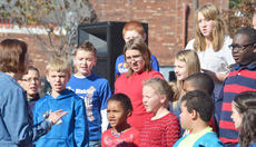 """<div class=""""source"""">Calen McKinney</div><div class=""""image-desc"""">Campbellsville Middle School choir members sing patriotic songs at the community's Veterans Day ceremony on Monday.</div><div class=""""buy-pic""""><a href=""""/photo_select/48332"""">Buy this photo</a></div>"""