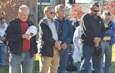"""<div class=""""source"""">Calen McKinney</div><div class=""""image-desc"""">More than 200 residents attended Monday's ceremony to honor the community's veterans.</div><div class=""""buy-pic""""><a href=""""/photo_select/48337"""">Buy this photo</a></div>"""