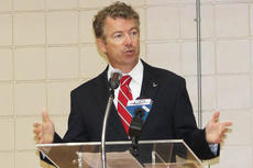 """<div class=""""source"""">Leslie Moore</div><div class=""""image-desc"""">U.S. Sen. Rand Paul, R-Ky., shares his views on the national debt, war and immigration at the Campbellsville/Taylor County Chamber of Commerce luncheon.</div><div class=""""buy-pic""""><a href=""""/photo_select/55100"""">Buy this photo</a></div>"""